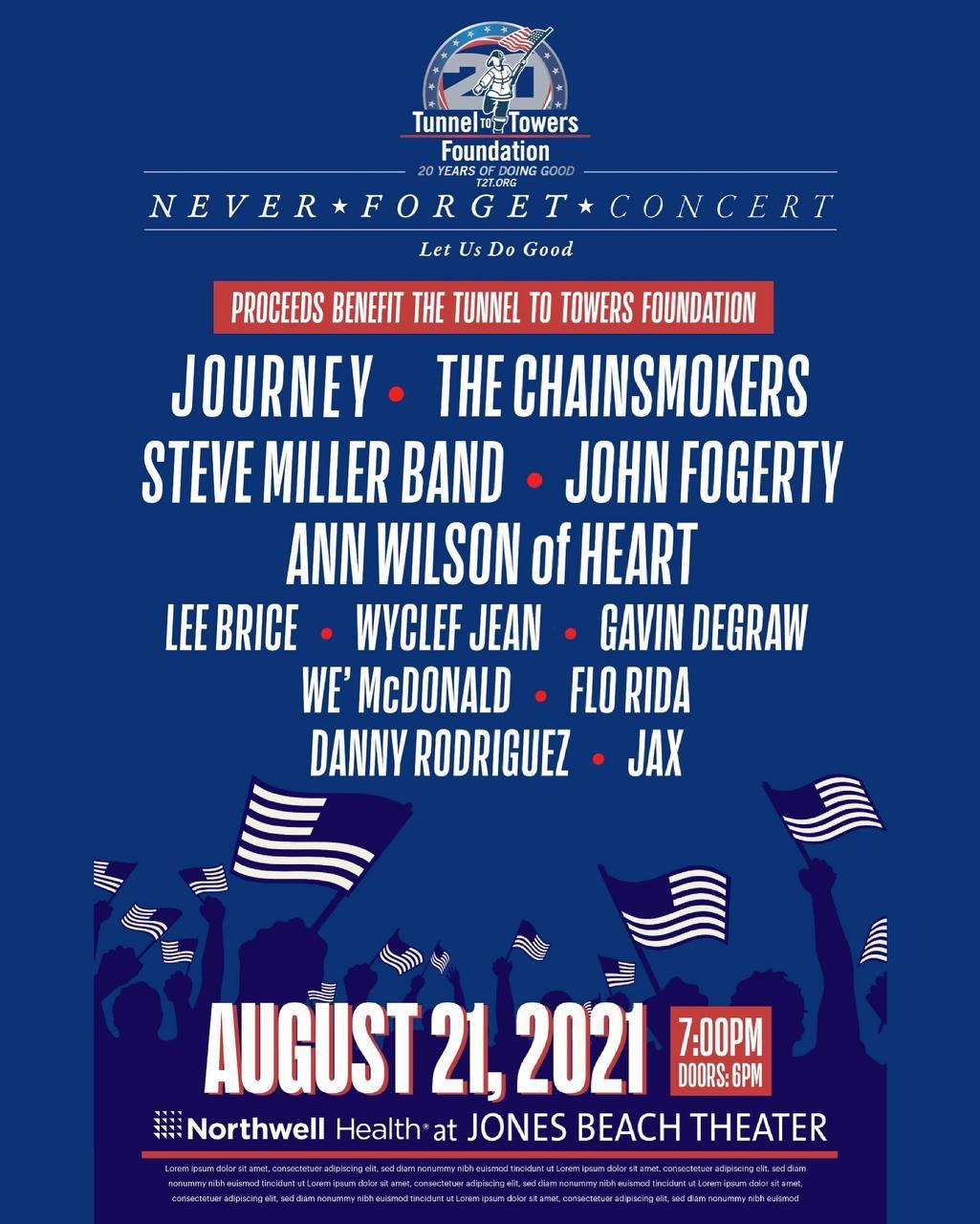 Never Forget Concert 2021